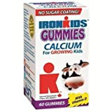 Ironkids Calcium w/D Gummies-60 Brand: IronKids - Life Science Nutritionals - Canadian