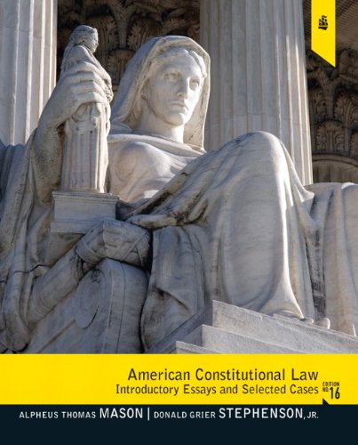 American Constitutional Law: Introductory Essays and...