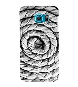 EPICCASE Rope spiral Mobile Back Case Cover For Samsung Galaxy S6 (Designer Case)