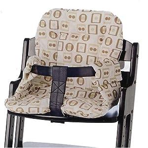 The Nursery Store: Babydan Dan Adjustable Wooden High Chair In