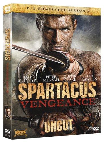 Spartacus: Vengeance - Die komplette Season 2 (Uncut) [4 DVDs]