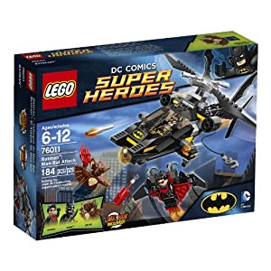 Amazon.com: LEGO Superheroes 76011 Batman: Man-Bat Attack: Toys