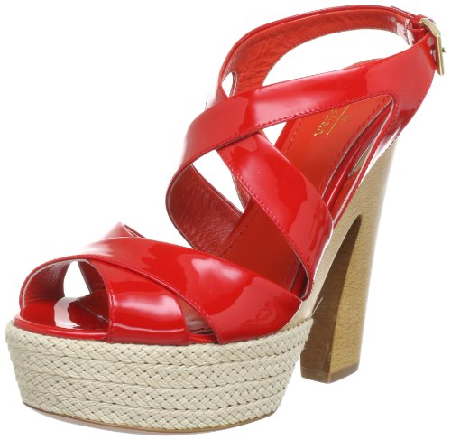 Sebastian ZOCCOLO DOPPIO INCR.+PLAT.CORDA Sandals Womens Beige BEIGE Size: 3.5 (36 EU)