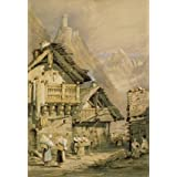 An Alpine Watercolour, by Samuel Prout (V&A Custom Print)