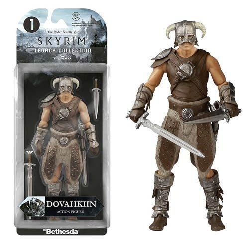 Elder Scrolls V: Skyrim Dovahkiin Legacy Collection Action Figure by Elder Scrolls