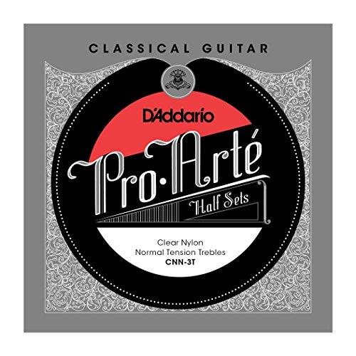 daddario-cnn-3t-pro-arte-clear-nylon-jeu-de-3-cordes-aigues-pour-guitare-classique-tension-normale