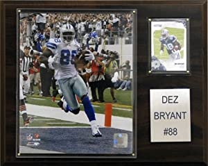 NFL Dez Bryant Dallas Cowboys Player Plaque by C&I Collectables