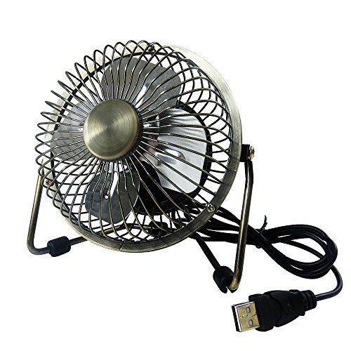 Edating Usb Desk Fan Powerful Airflow Electrocoppering