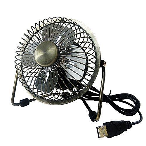 Small Travel Fan : Edating usb desk fan powerful airflow electrocoppering