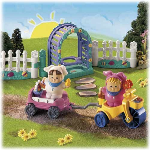 Fisher Price Little People Easter Egg Hunt Set-New In Box front-982790