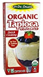Let's Do - Organic Tapioca Granulated - 6 oz. (Pack of 2)