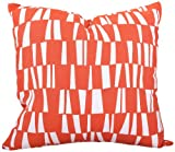 Majestic Home Goods Sticks Pillow, Large, Salmon