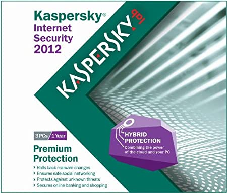 Kaspersky Internet Security 2012 - 3 Users- Frustration Free Packaging [Old Version]