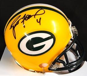 Brett Favre Autographed Green Bay Packers Mini Helmet PSA DNA