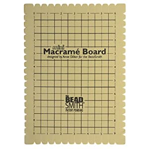 Beadsmith Mini Macrame Board 9x6 Inches