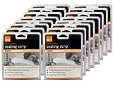 16x B&Q Bath & Wall Silicone Sealing Strip - Ivory (Size: 41mm x 3.35)