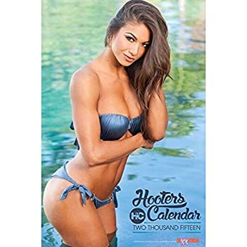 2015 Hooters Calendar 0748252107985 Buy New And Used