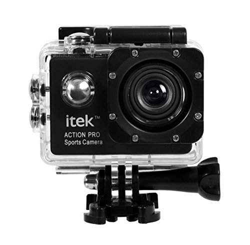 Action Camera 1080P Waterproof Go Pro Type Sports Video Camcorder With CMOS Sensor , Wi-Fi , Ultra HD 12MP 60fps...