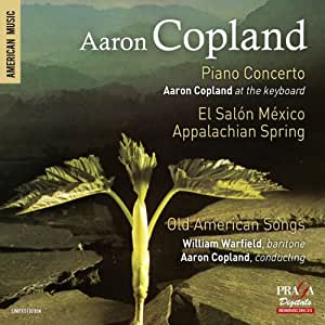 Copland piano concerto el salon mexico appalachian for Aaron copland el salon mexico