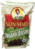 2 LBS Organic Sun Dried California Raisins (1 Resealable Bag)