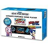 At Games Sega Genesis Portable System with 80 Pre-load Games