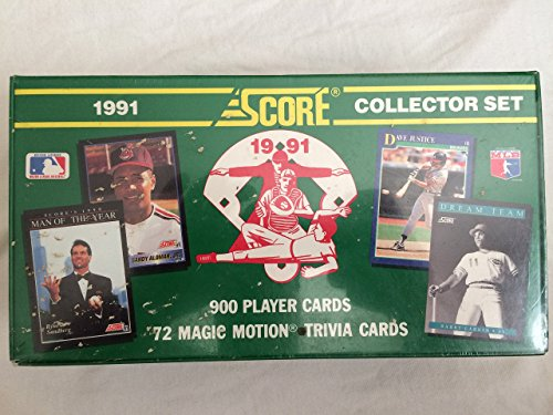 1991 Score Baseball Cards Complete Factory Sealed Set of 900 Cards [Misc.]