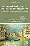 img - for International Human Resource Management: Contemporary HR Issues in Europe (Global HRM) book / textbook / text book