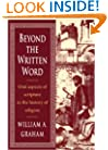 Beyond the Written Word: Oral Aspects of Scripture in the History of Religion
