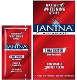 Janina Ultrawhite Maxiwhite Whitening Strips