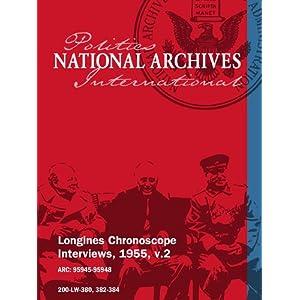 Longines Chronoscope Interviews, 1955, v.2: Gen. Romulo, Georges Bissonnette movie