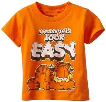 Amazon.com: Garfield Little Boys' Garfield Tee, Orange, 2T: Fashion T