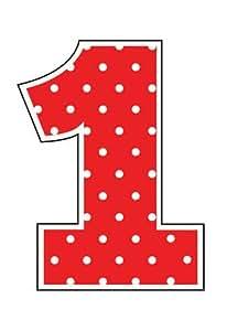 Amazon.com: Creative Converting Ladybug Fancy 1St Birthday Molded