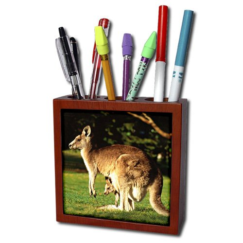 Kangaroo Tile Pen Holder, 5-Inch