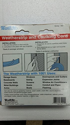 Frost King B2 Mortite Caulking Cord 19-ounce 90-Foot Long, Grey picture