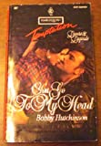 "You Go To My Head (Harlequin Temptation, No. 457, ""Lovers & Legends"") (0373255578) by Bobby Hutchinson"