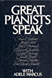 img - for Great Pianists Speak With Adele Marcus by Adele Marcus (1979-01-01) book / textbook / text book