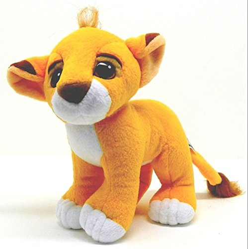 "Disney the Lion King; 8"" Baby Simba Plush - 1"