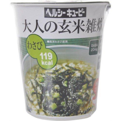 ヘルシーキユーピー大人の玄米雑炊わさび 32.2g