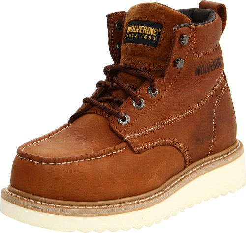 Wolverine Men's W08289 Wolverine Steel Toe Boot, Honey, 8 M US