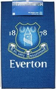 Everton F.C Blue Football Crest Bedroom Rug OFFICAL