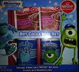 Disney Pixar Monsters University Hot Cocoa Mug Set Sulley Mike