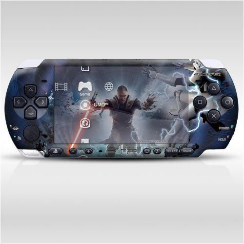 Star Wars Decorative Protector Skin Decal Sticker for PSP-3000 Item No.0858-56