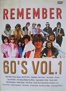 Remember The 60s - Vol. 1 [DVD]
