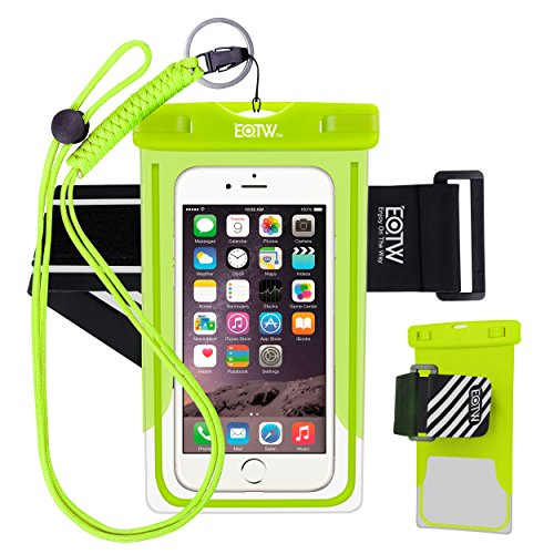 EOTW Waterproof Cell Phone Case Dry Bag Pouch Pocket With Armband Case For iPhone 6 6S Plus 5S SE Samsung
