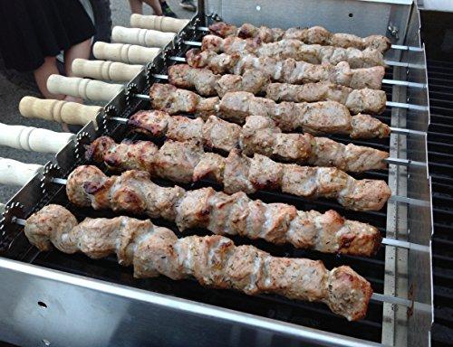 Spinarri Model 975 - Tikka Kebab Greek Souvlaki Foukou Cyprus Churrasco Brazil Grill BBQ Spiedini Skewer Kofta Broschette Yakitori Mangal Braai