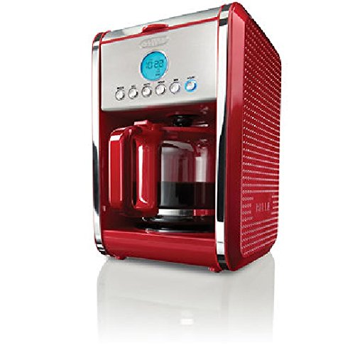 BELLA Dots Collection 12-Cup Programmable Coffee Maker made by D&H Distributing - Sensio ...