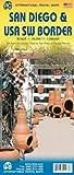 ITMB Publishing San Diego & US/Mexico SW border itm r/v (r) 1/15-1/1,39M