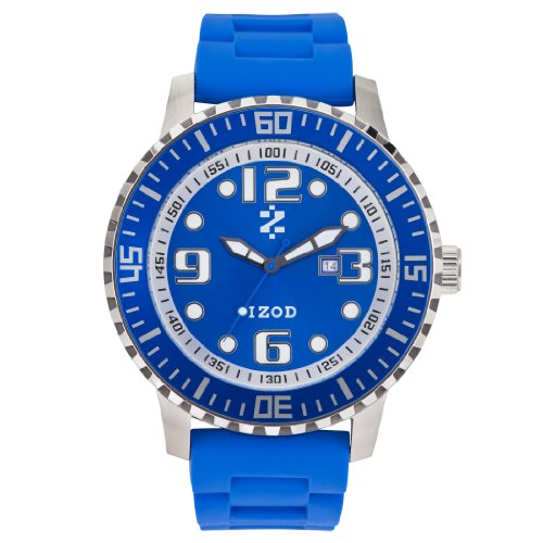 IZOD Men's IZS4/6 BLUE Sport Quartz 3 Hand Watch
