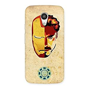 Luxirious Genius Pwer Back Case Cover for Moto G 2nd Gen