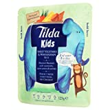 Tilda Kids Sweet Vegetables and Wholegrain Rice 125 g